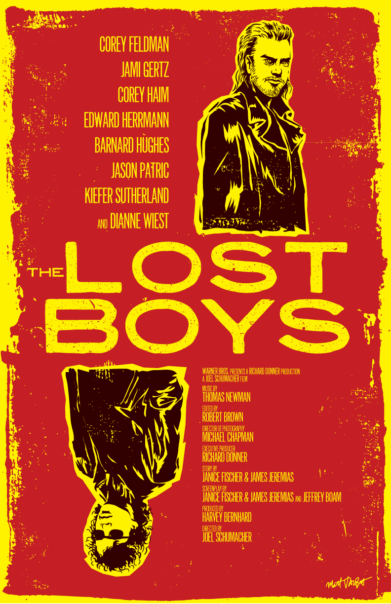 The Lost Boys poster by Matt Talbot