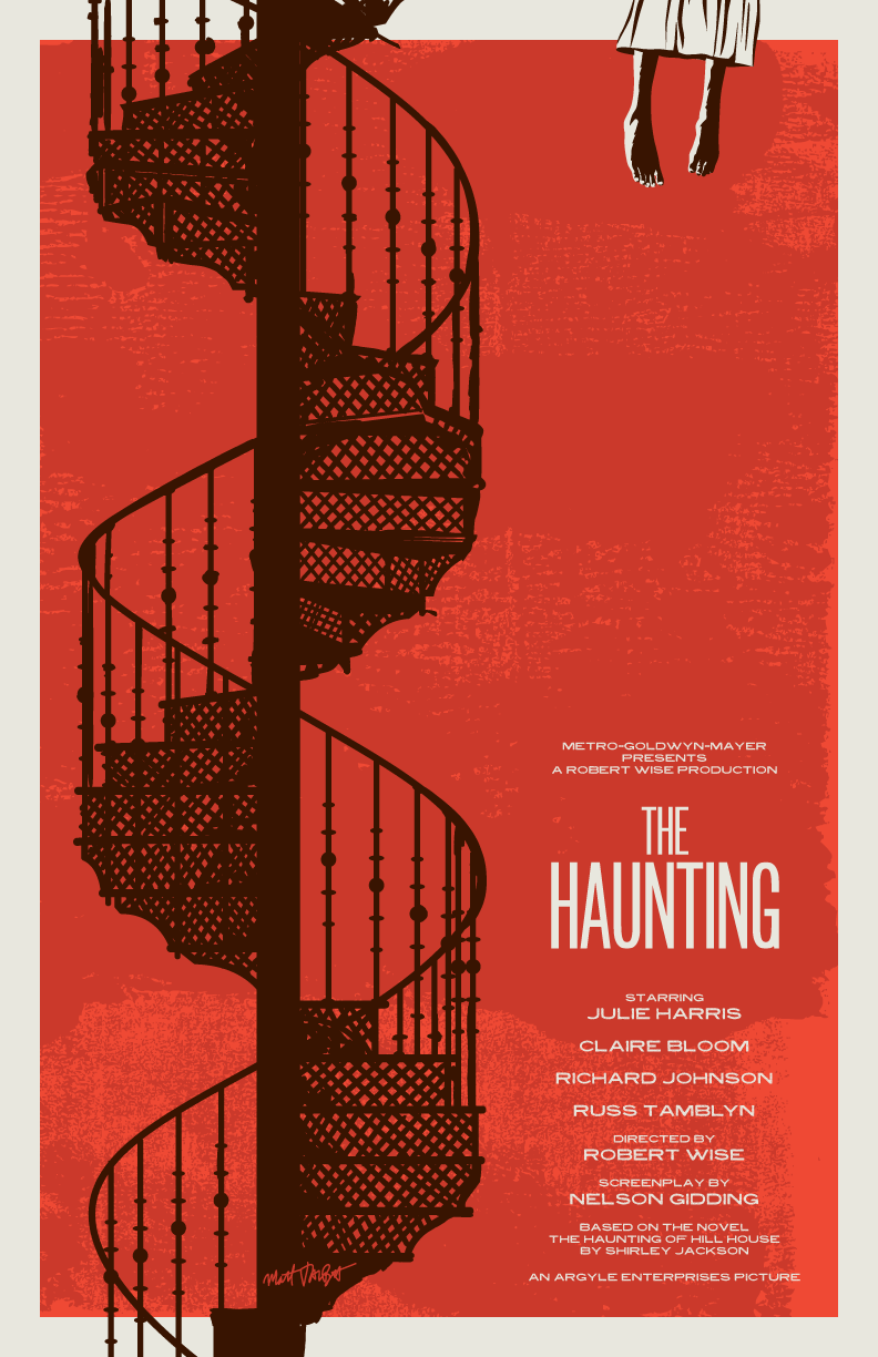 The Haunting poster by Matt Talbot
