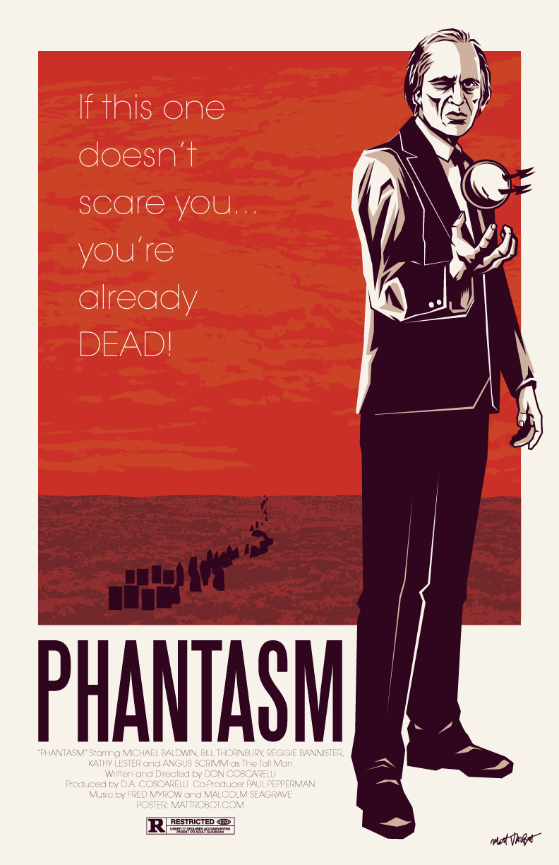 Phantasm poster by Matt Talbot