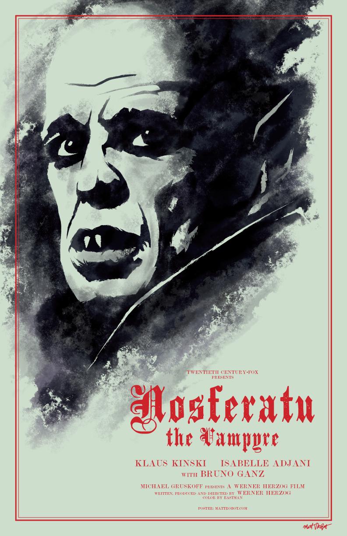 Nosferatu poster by Matt Talbot