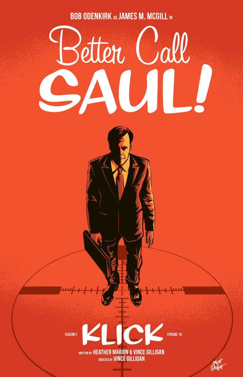 Better Call Saul Season 2 Episode 10 poster by Matt Talbot