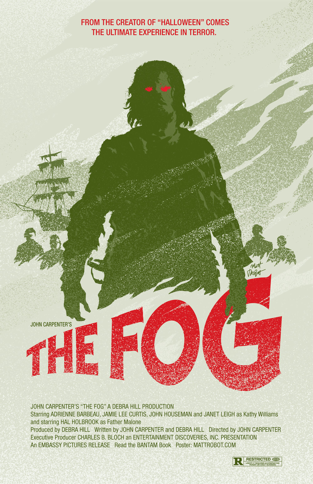 The Fog Poster by Matt Talbot