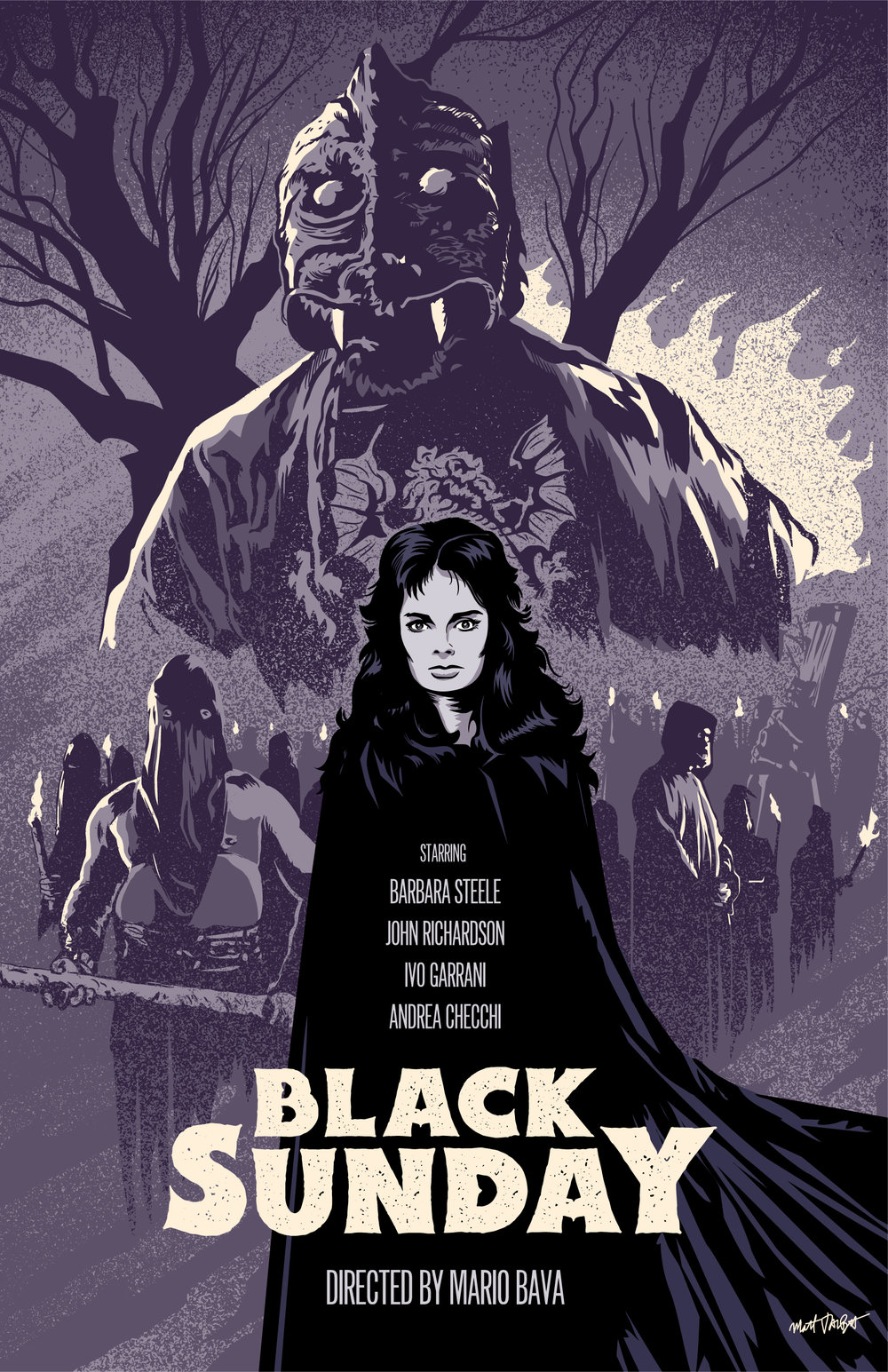 Black Sunday Poster by Matt Talbot