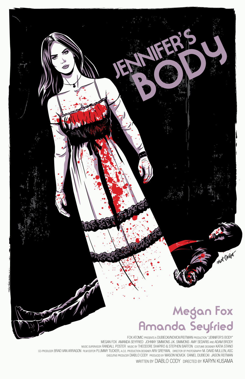 Jennifer's Body Poster by Matt Talbot