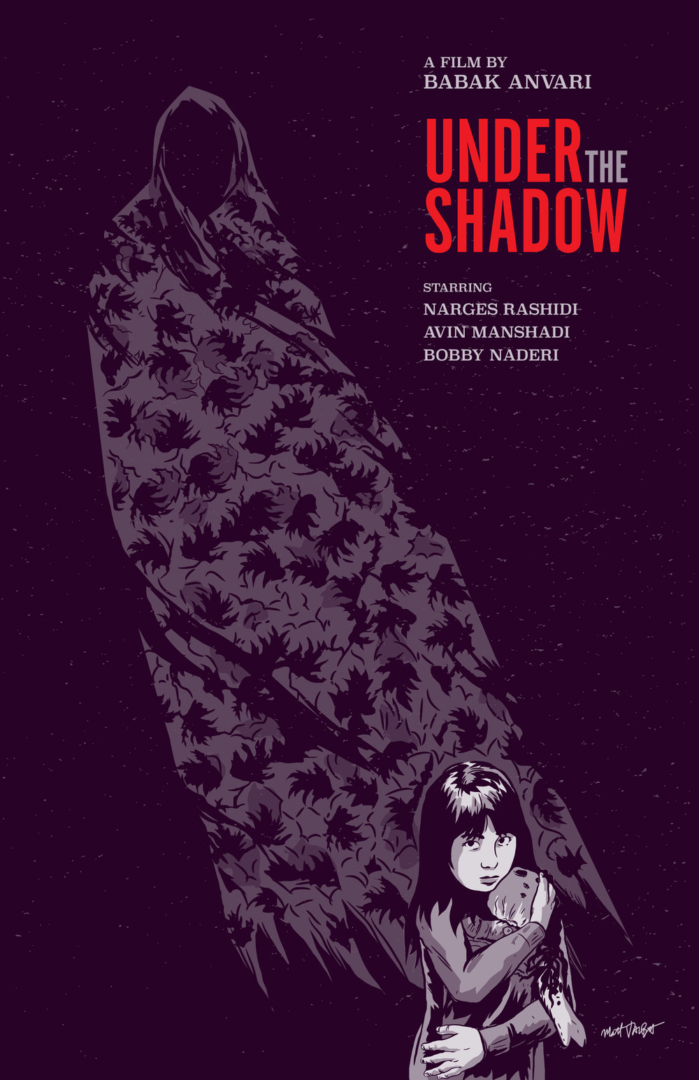 Under the Shadow Poster by Matt Talbot