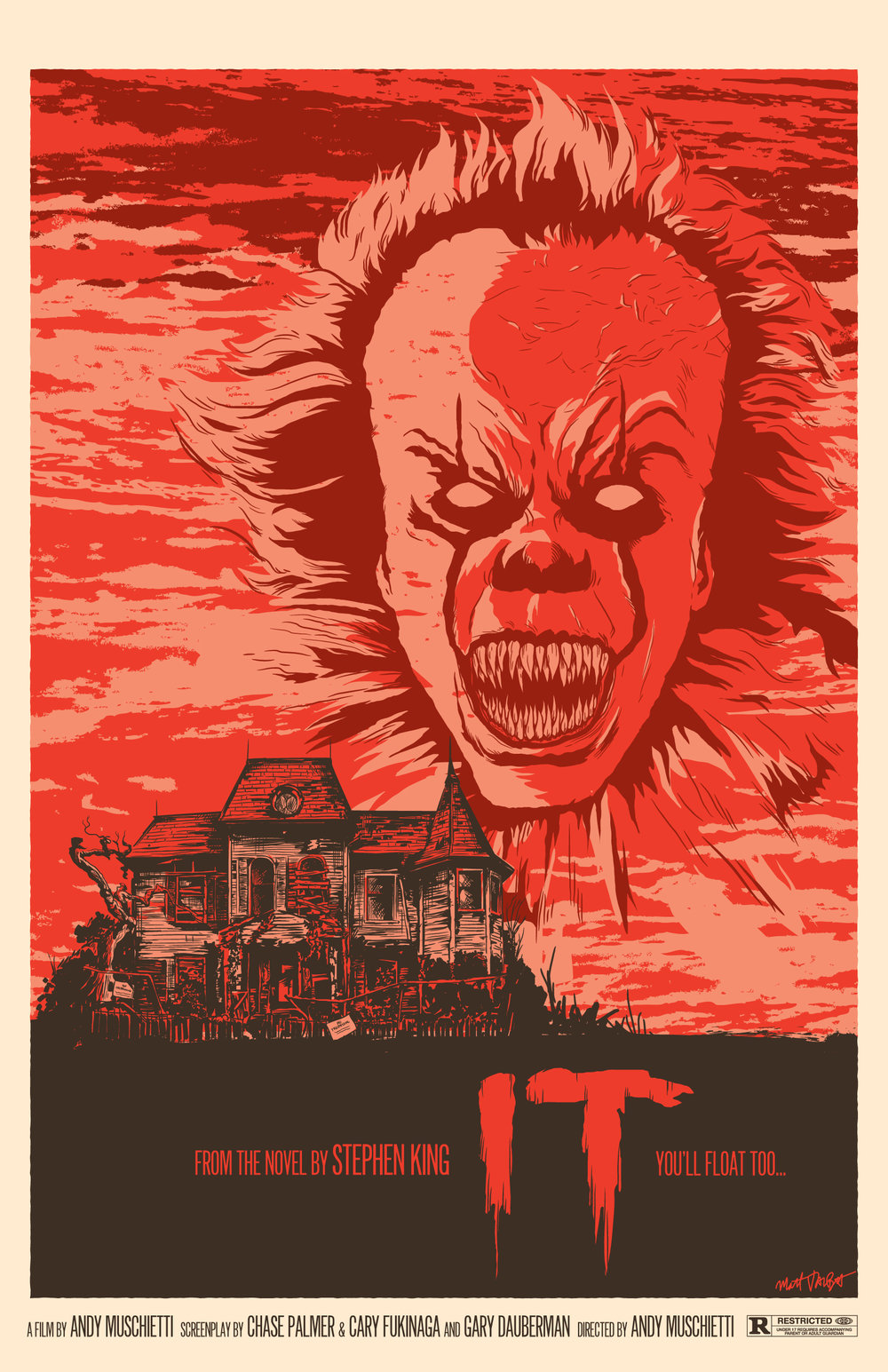 It (2017) poster by Matt Talbot