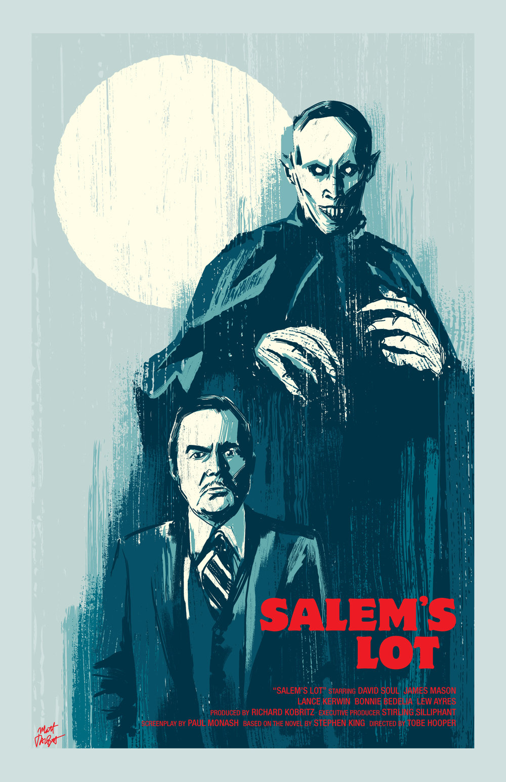 Salem's Lot poster by Matt Talbot