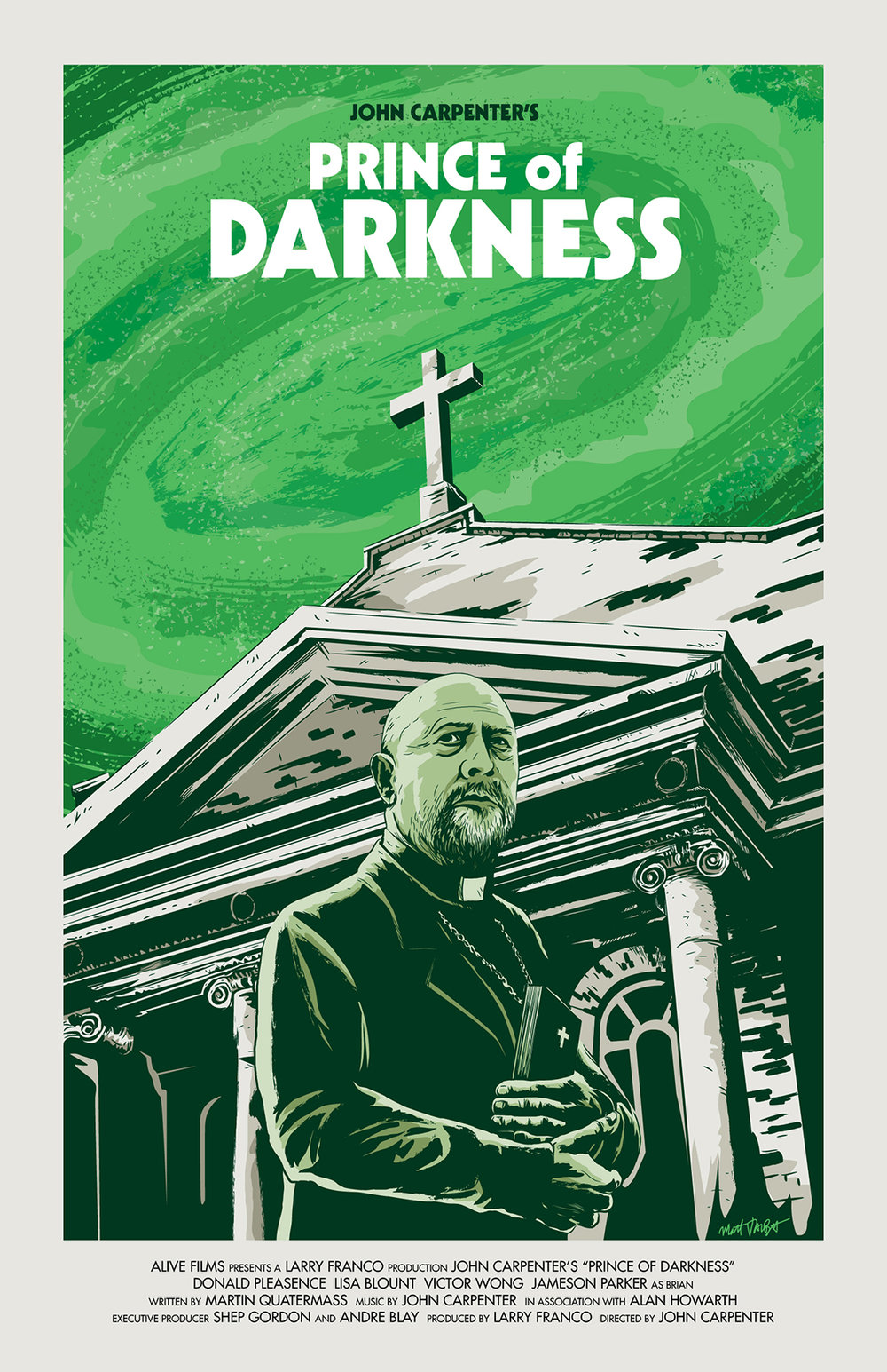 John Carpenter's Prince of Darkness poster by Matt Talbot