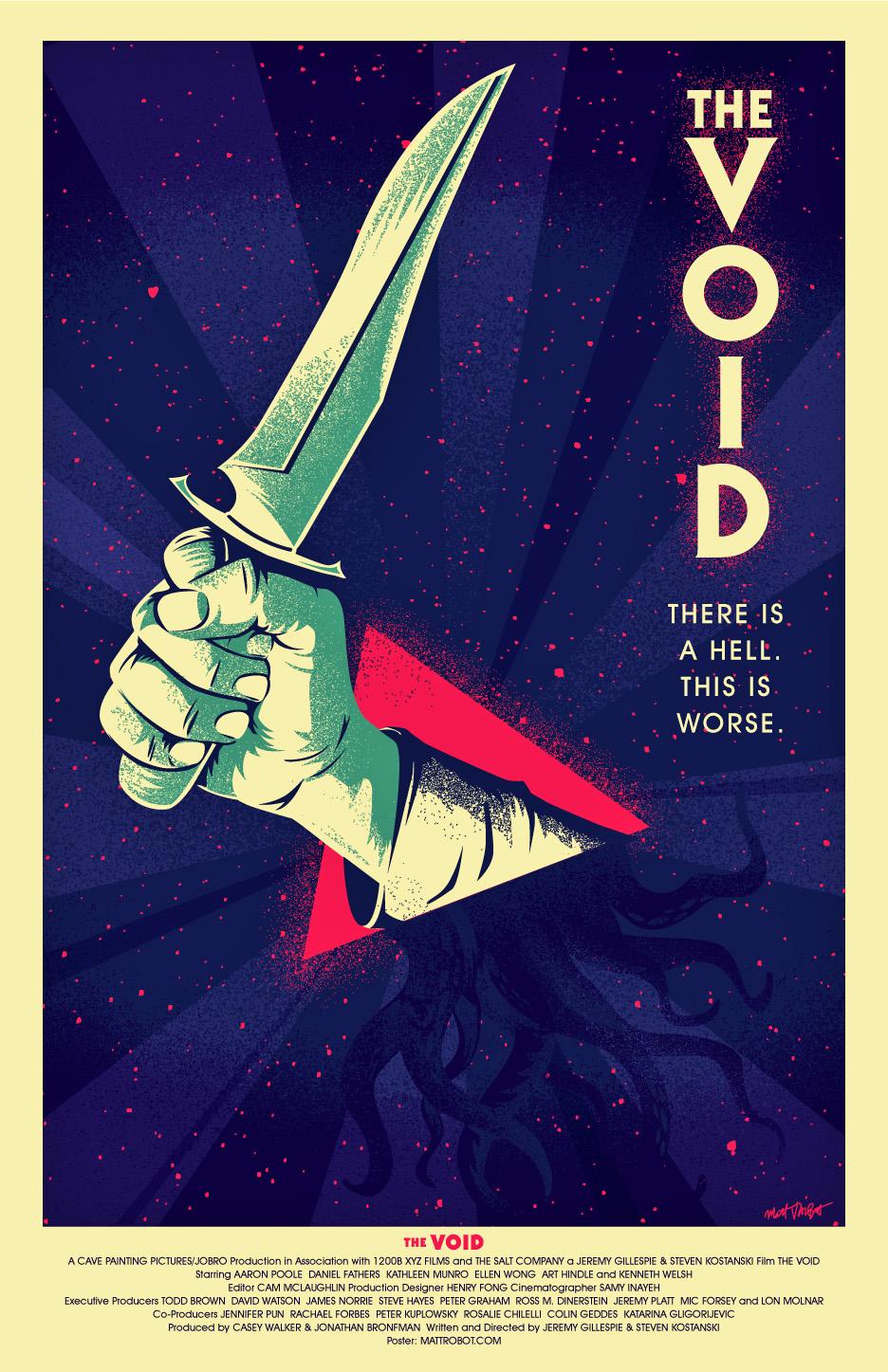 The Void poster by Matt Talbot