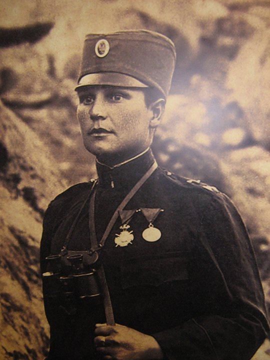 Milunka Savic The Female Soldier