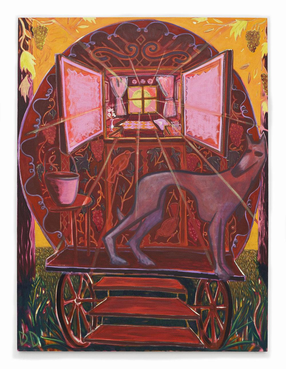 Magic Hour  Oil on Flax  150 x 200 cm