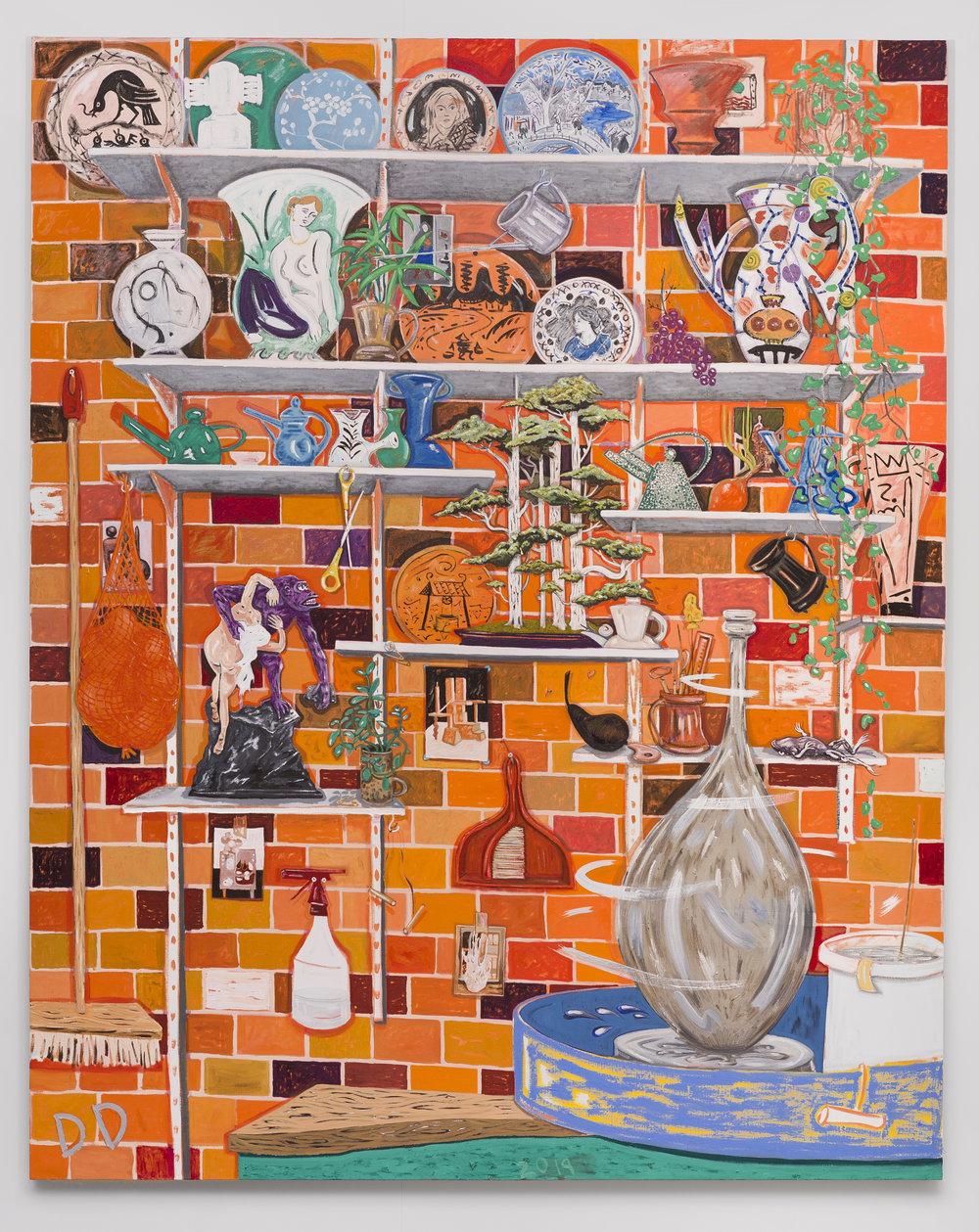 Pottery  Oil on Linen  200 x 250 cm  2019
