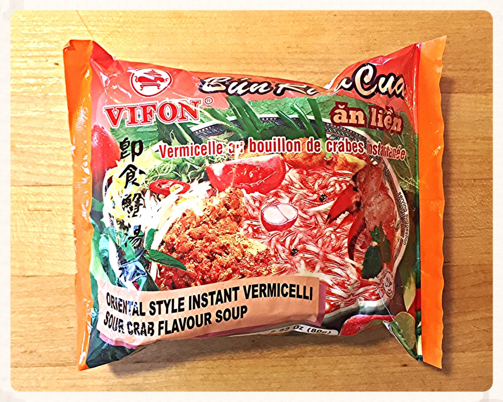 Vifon 0riental style instant vermicelli sour crab flavor