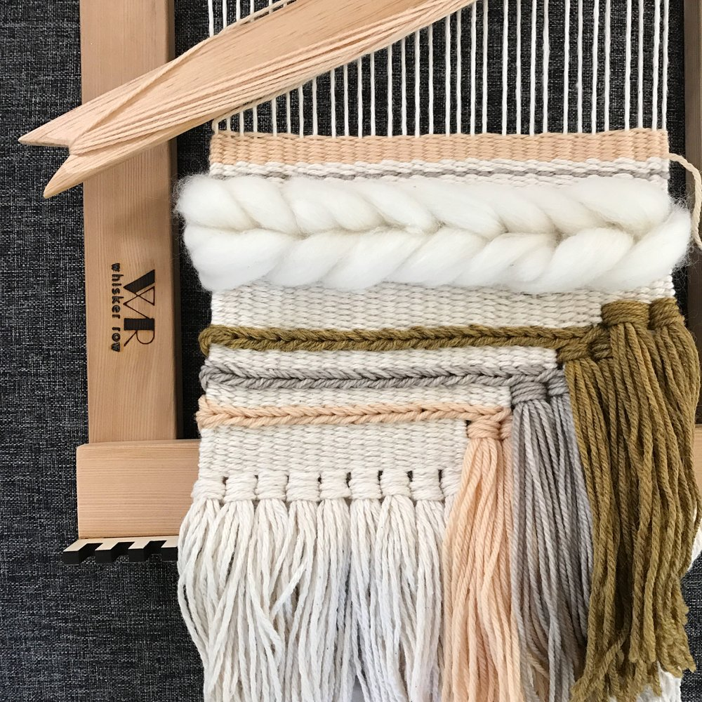 MARCH 19 | WEAVING WITH WHISKER ROW | SIGN UP HERE