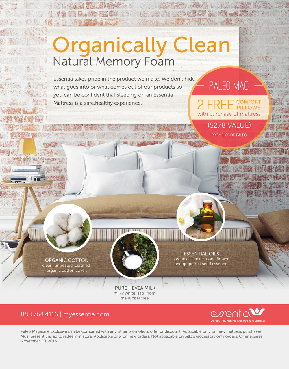 organic new our memory foam mattress essentia copycatchic
