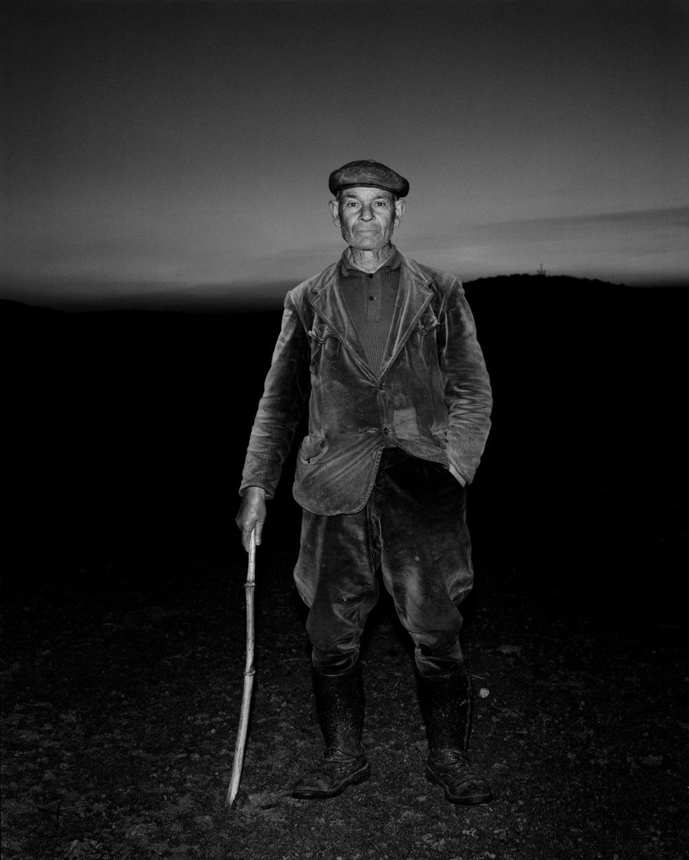 Sardinian shepherd at sunset, L'Uomo Vogue 1976.jpg