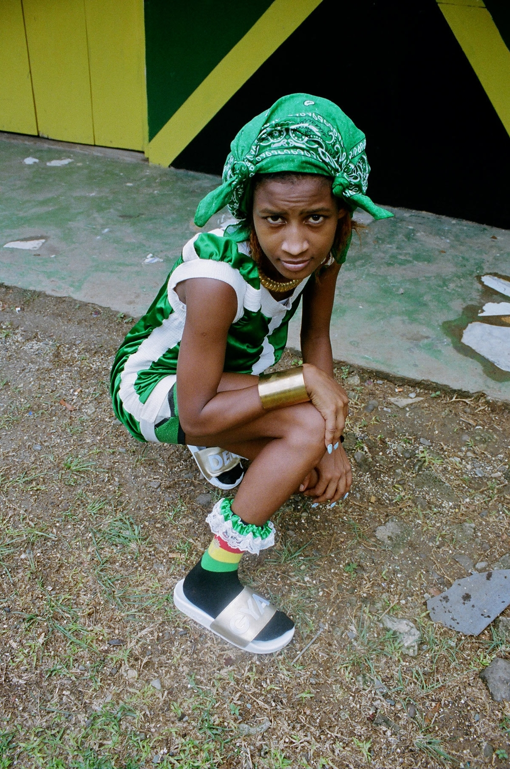 """Kooli """"Otherwise known in Drapers as Mosquito. Again an amazing dancer, she is in a dance group, which tours JA. Kooli has a fierce shell but once you crack it is the sweetest."""""""
