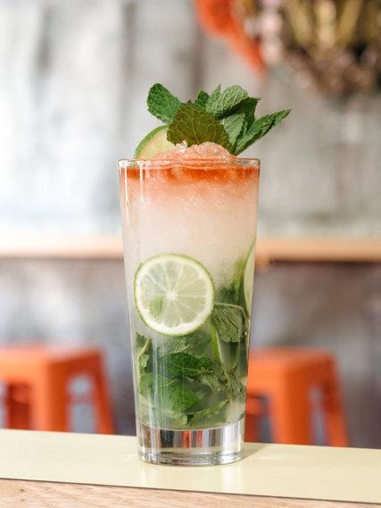 An alluring drink at Agrikol. Credit - Alexi Hobbs