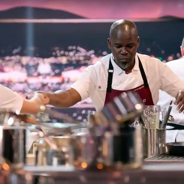 Netflix's new culinary competition The Final Table features 24 acclaimed chefs from around the world, working in teams of two through a series of country-themed challenges. Among them is Jamaican-born chef Collin Brown who has cooked Caribbean food in kitchens all around the world, including an eponymous restaurant in London's Canary Wharf area. He was recently named the executive chef of Cottons Caribbean Rum Shack, a UK-based chain with four locations throughout London. . . . . #mypatoo #jamaican #chefs #netflix #jamaica #culinary #PatooClicks #PatooPeople #tastemakers #livingwell #jetsetsociety #ilovetravel#foodisart #chefsoftheworld