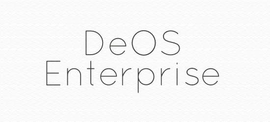 What can DeOS Enterprise do for me?