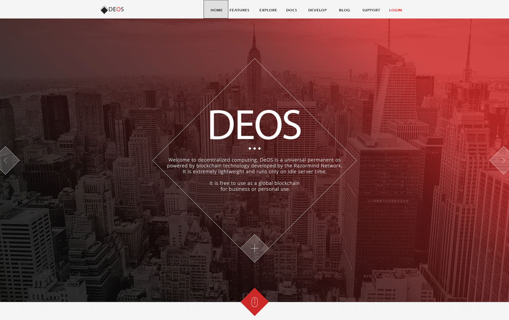 DeOS is a decentralized computer powered by blockchain technology.