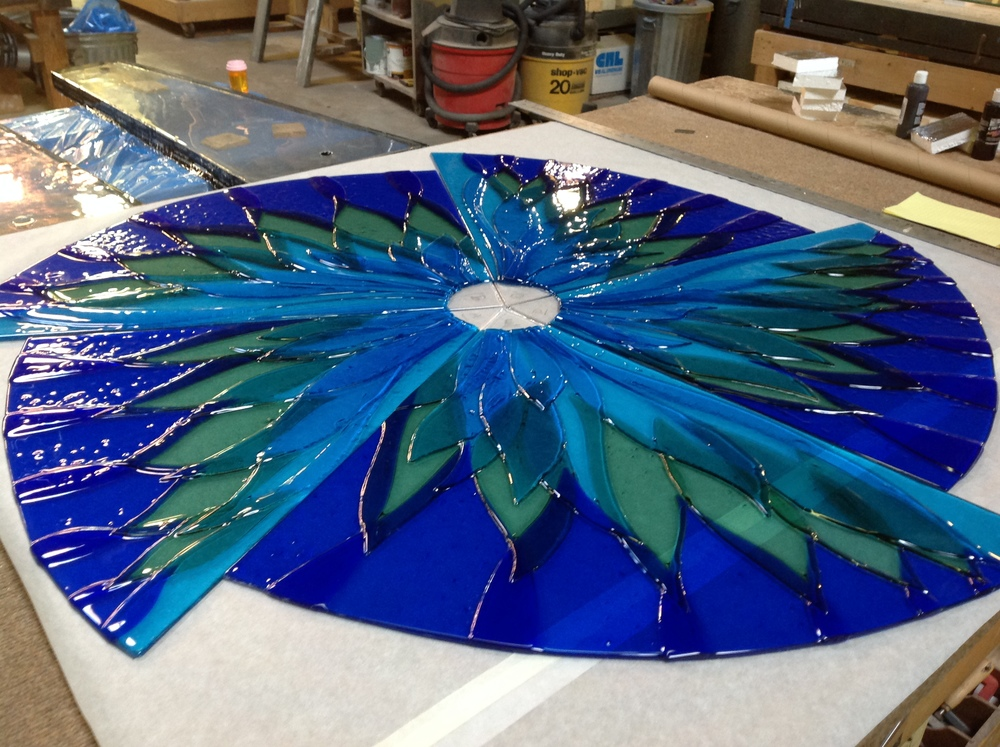 Glass Work in process