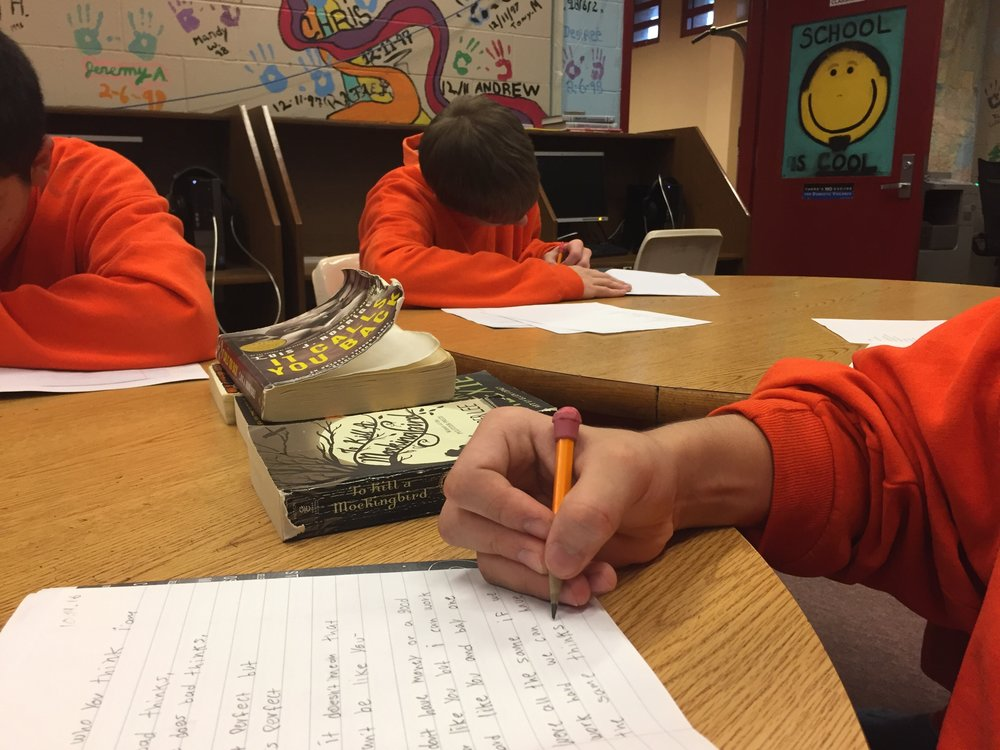 Underground Writing - Skagit County Juvenile Detention