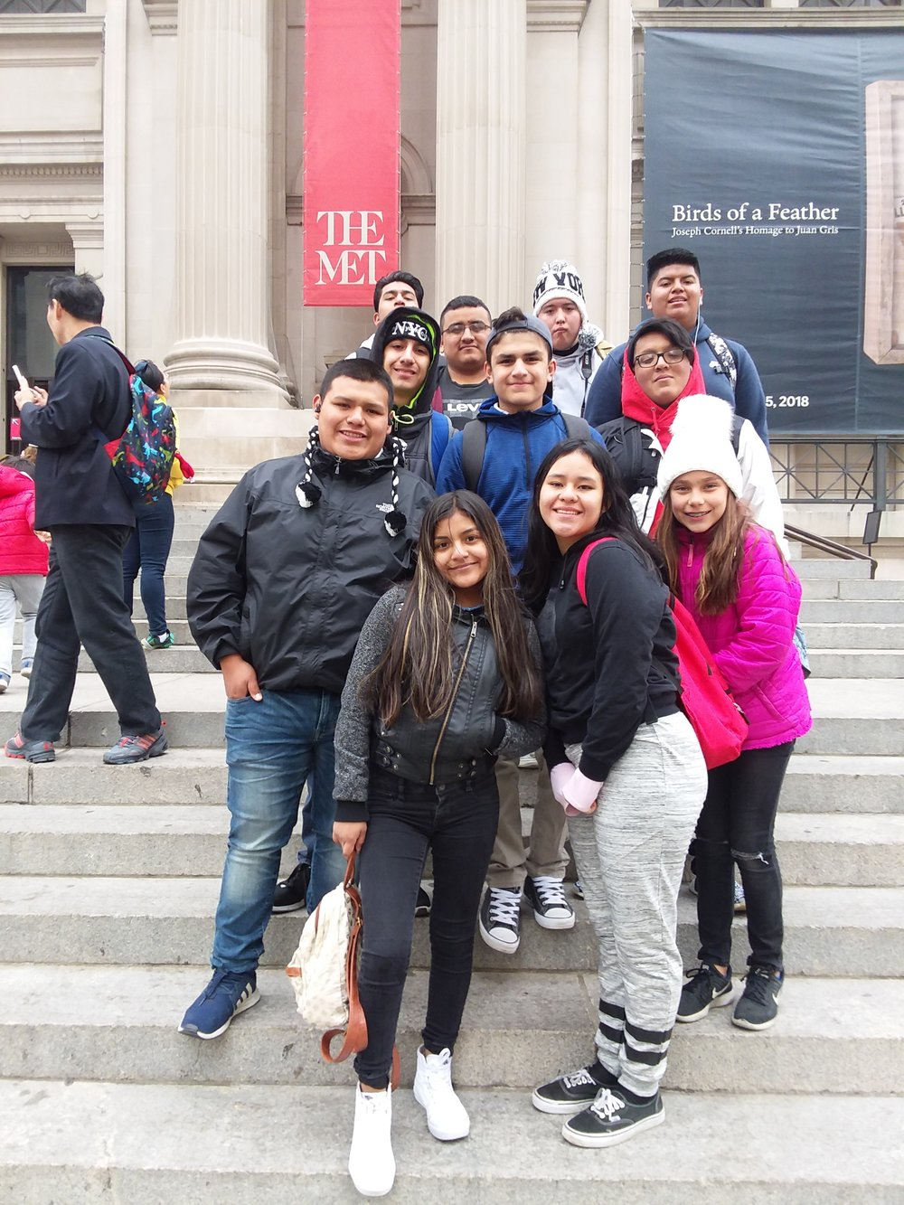 Students (half group) - at the The Met
