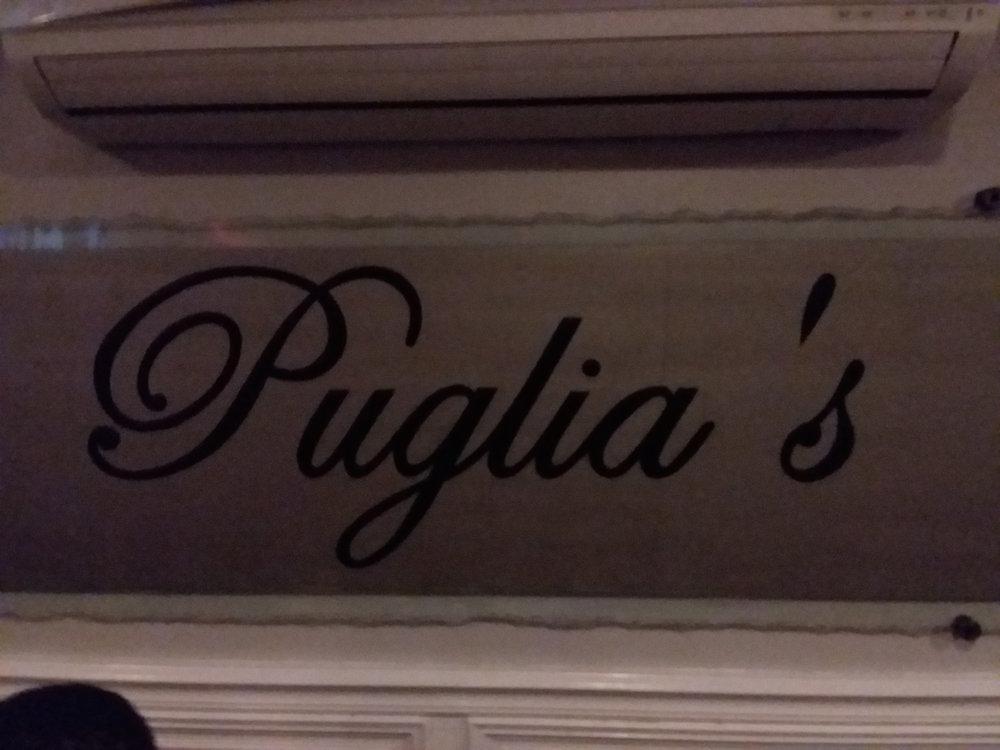 Dinner in Little Italy, final night