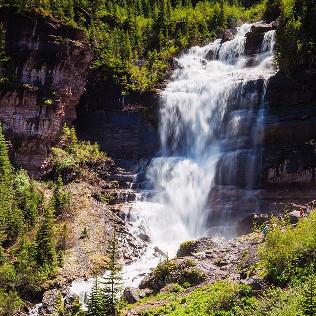 Road Trip Day 33: A different view of Bear Creek #Waterfall in #Telluride #ColoRADo