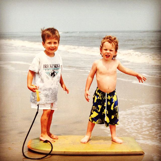 #tbt to some mad boogie boarding skills
