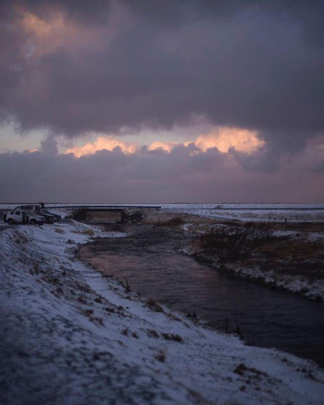 10 am sunrise over Seljalandsfoss, Iceland