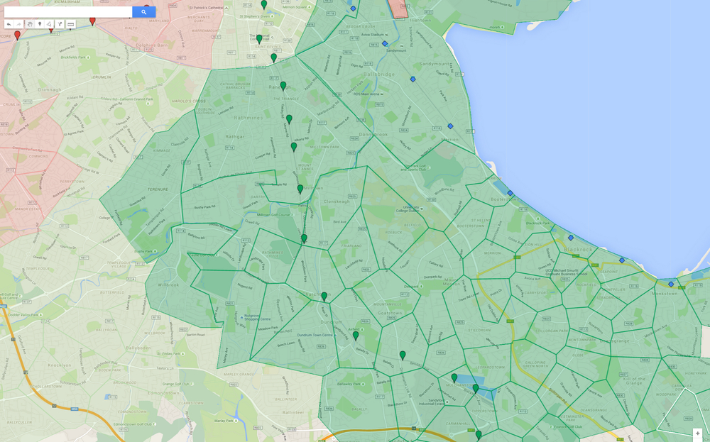 What are the best areas and those that you should avoid this map was created thanks to google maps publicscrutiny Choice Image