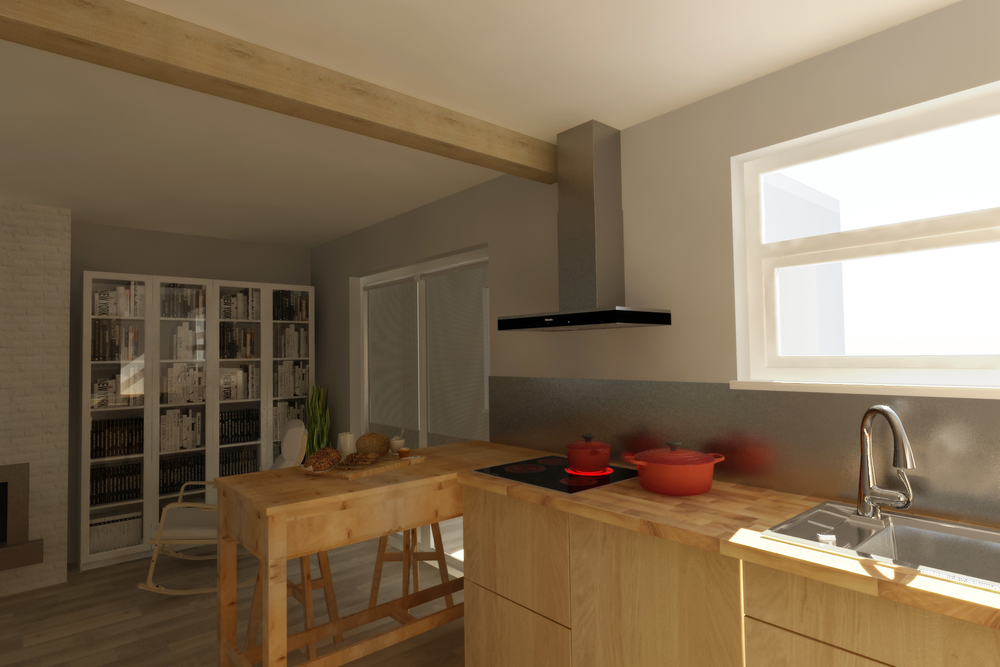 My kitchen - interior design project