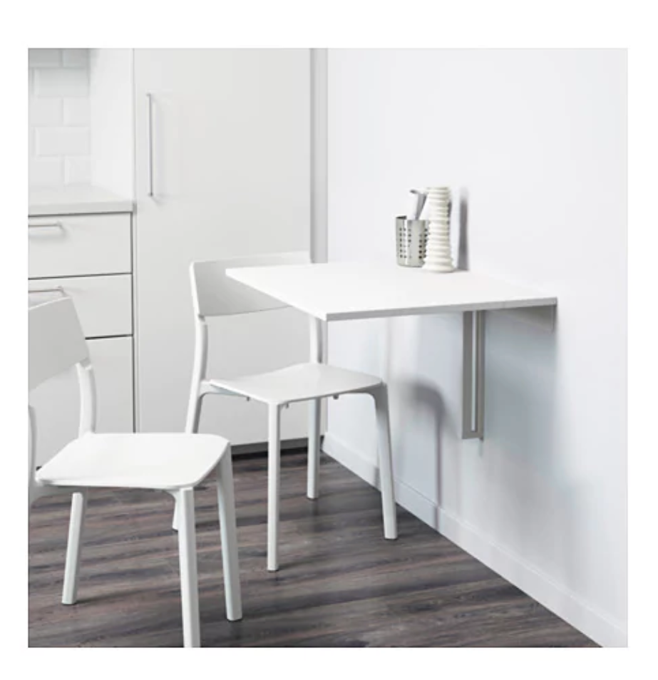 - IKEA NORBERG Wall-mounted drop-leaf table€4074 x 60 cm