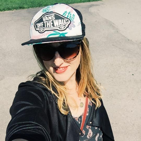 veronica_outside_selfie
