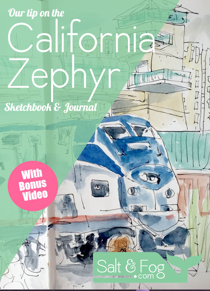 California zephyr sketchbook journal salt fog solutioingenieria Gallery
