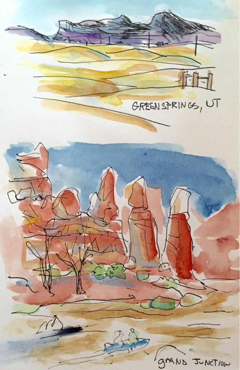Sketching Utah
