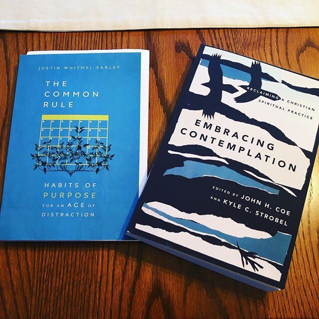Two wonderful new titles from @ivpress via @justinwhitmelearley and @kylestrobel // More thoughts to come!