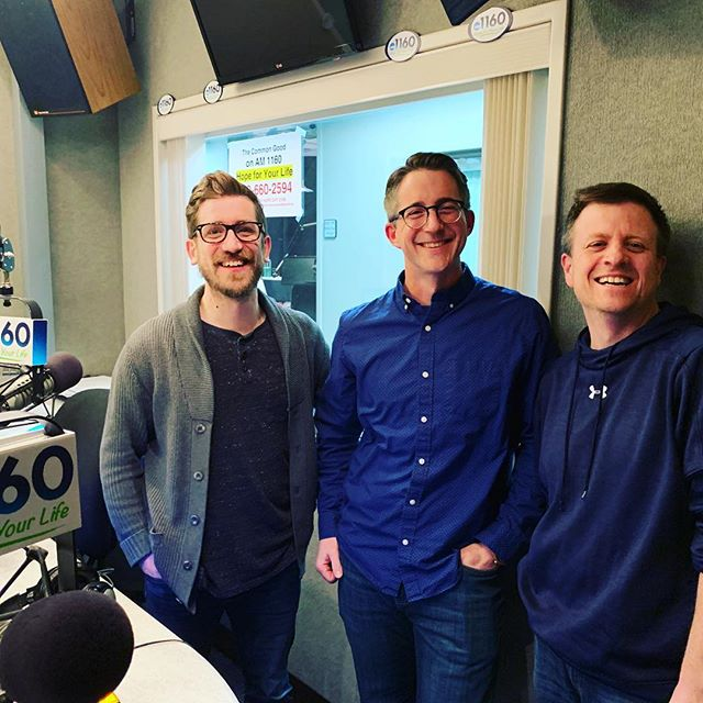 "So much fun hanging with @iansimkins and Brian From on AM1160 talking about my next book, ""As I Recall"""