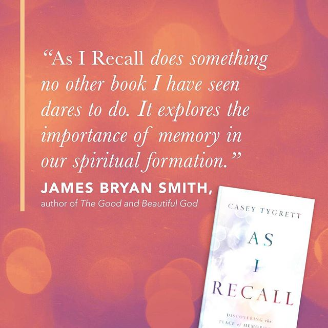 Kind words from James Bryan Smith... Eagerly awaiting release next week - April 9! Preorder on Amazon!  https://amzn.to/2VbxEUt