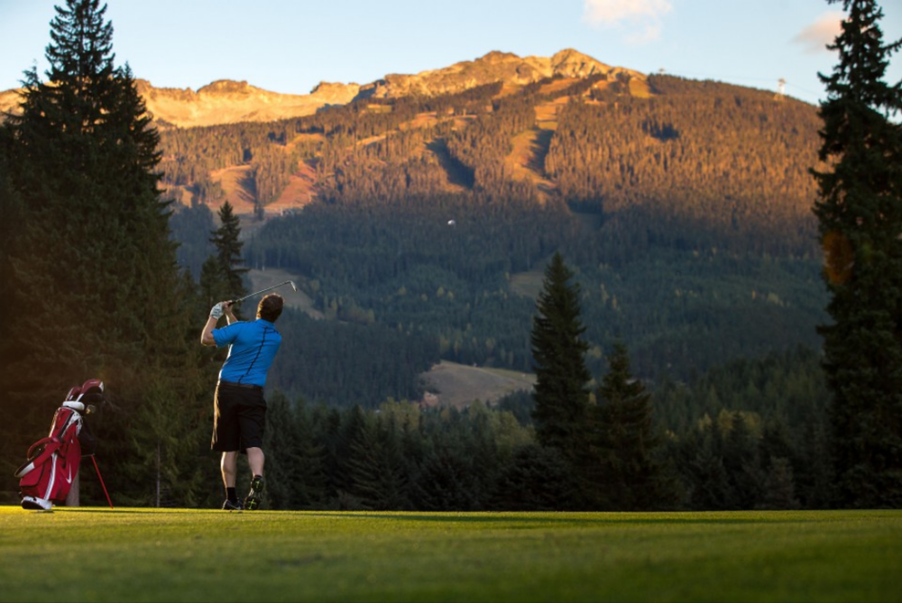 Whistler mountain golf course, whistler, bc, canada