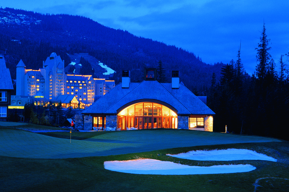 Chateau Whistler, Whistler, BC Canada