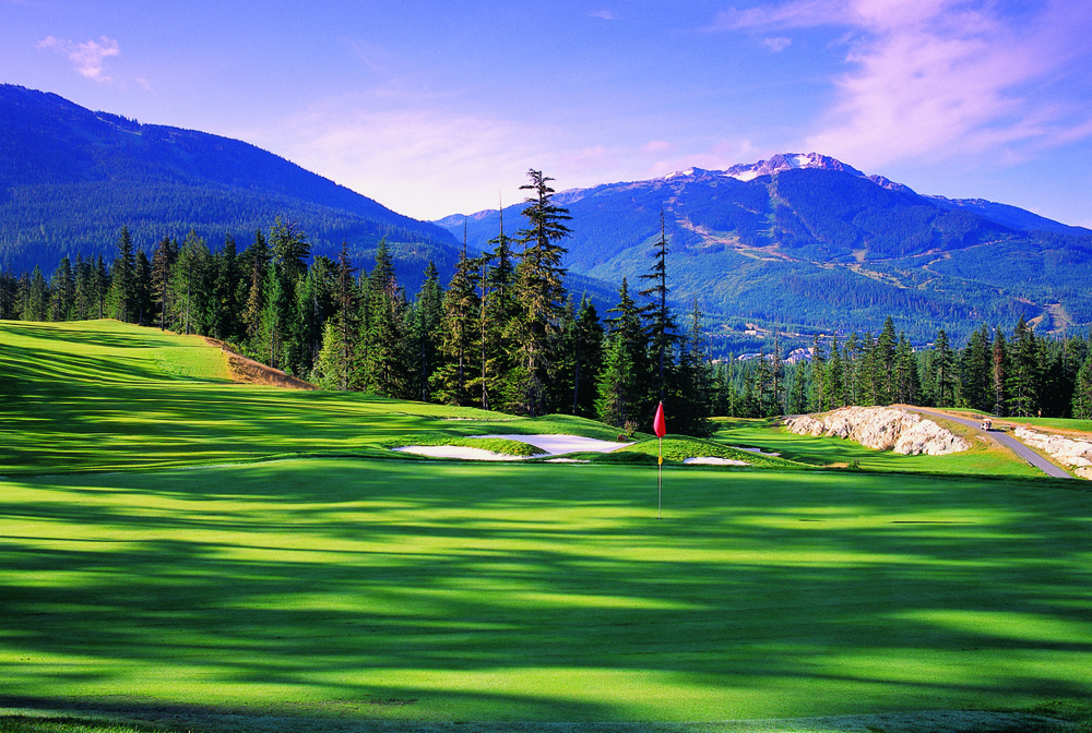 chateau whistler golf course