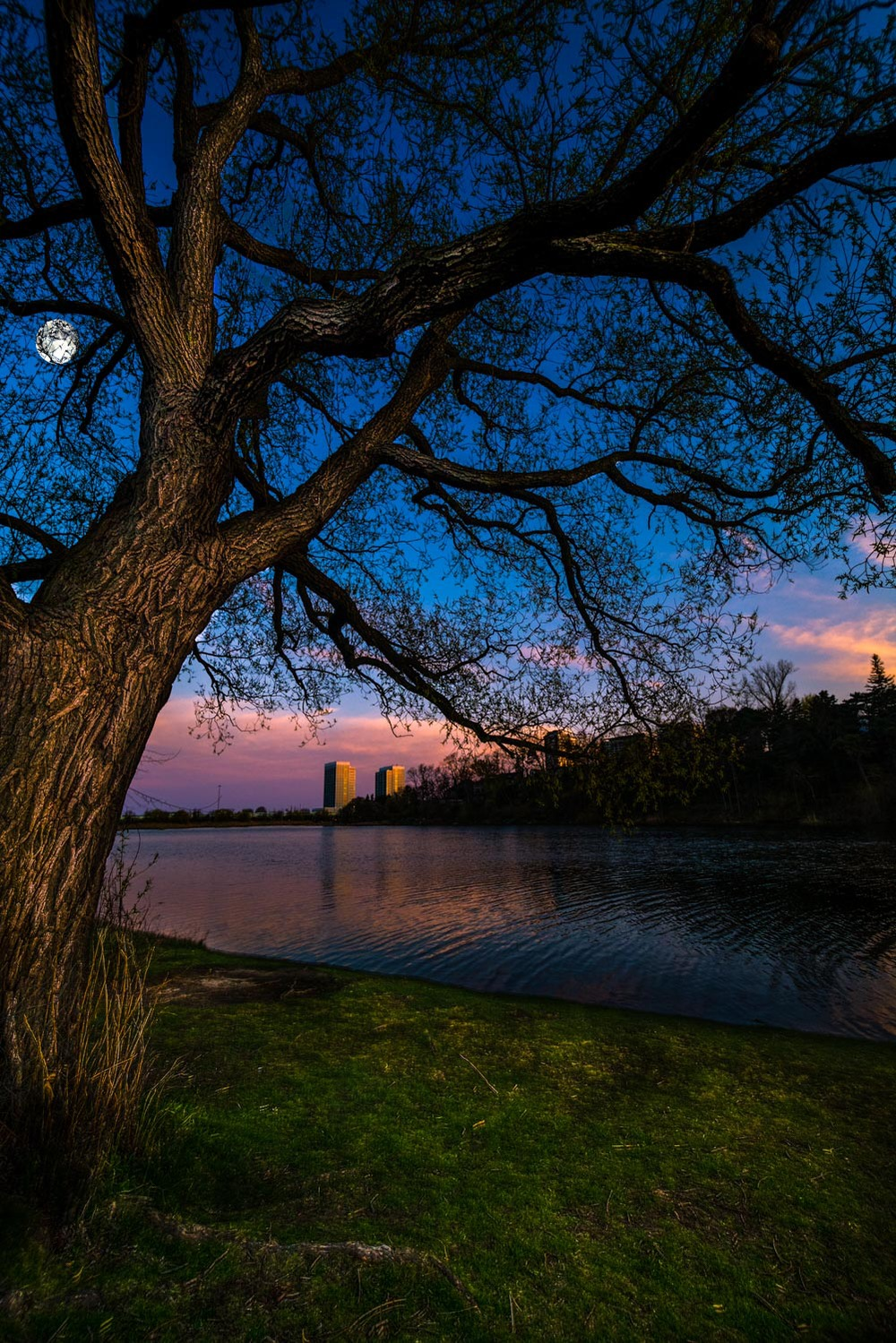 Grenadier pond sunset