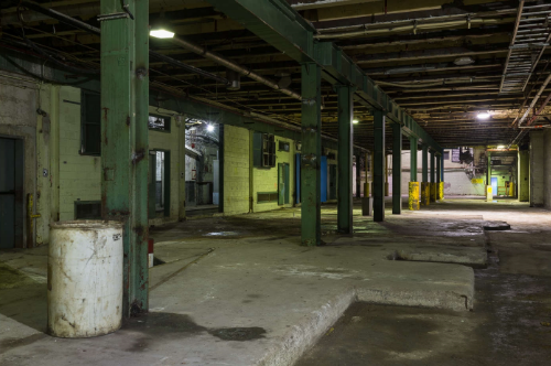 Open Space Within the Former E. B. Eddy Mill