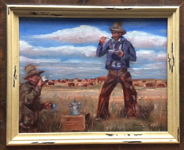 Grandpa at the 3B Ranch