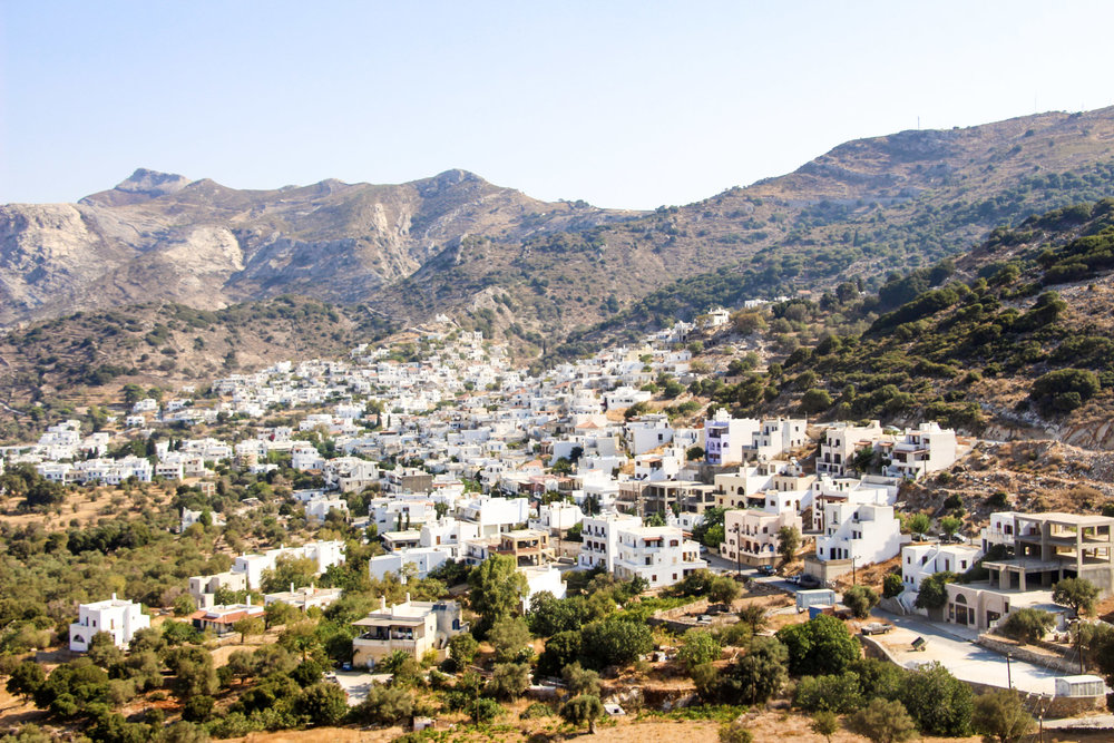 One of several adorable villages, Naxos, Greece.