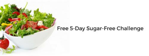 Free 5-Day Sugar-Free Challenge