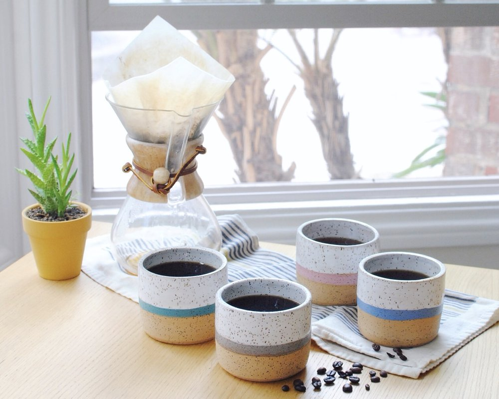Pictured: Stripe Cups